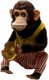 a toy monkey